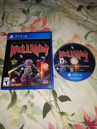 PS4 HELLMUT GAME...SMOKE FREE HOME...FREE SHIPPING WITH TRACKING...VERY GOOD CONDITION...