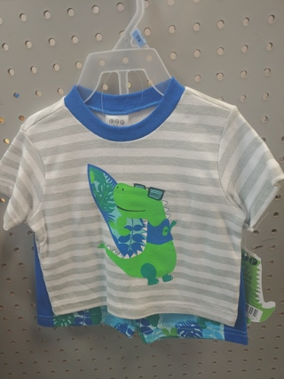 New! Baby Boys 2pc set-Size 12mth