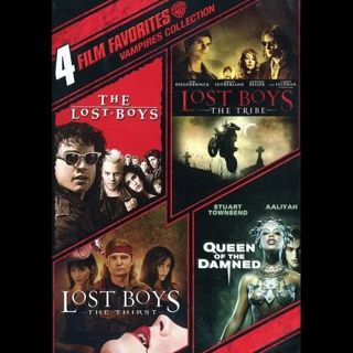4 film Vampire Collection Lost Boys Queen of the Damned digital movie code for all 4 movies