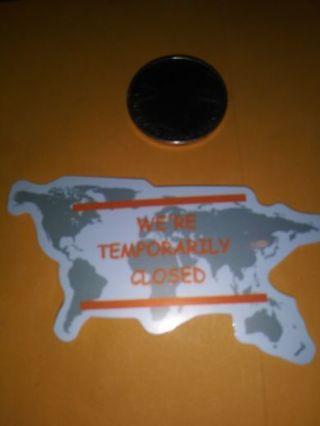 Covid sticker no refunds regular mail