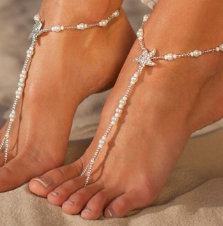 Bohemian Natural Sea Shell Conch Anklets For Women Ankle Bracelet on Leg Chain Silver Shell Gold