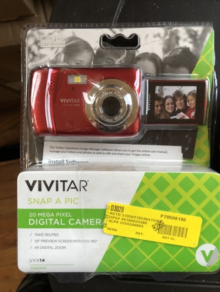 Vivitar 2d mega pixel digital camera