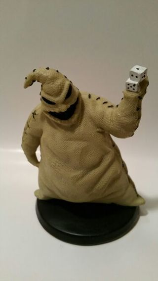 extremely detailed oogie boogie ceramic figurine from the nightmare before christmas - The Nightmare Before Christmas Oogie Boogie