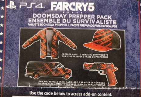PS4 Far Cry 5 Doomsday Prepper Pack DLC