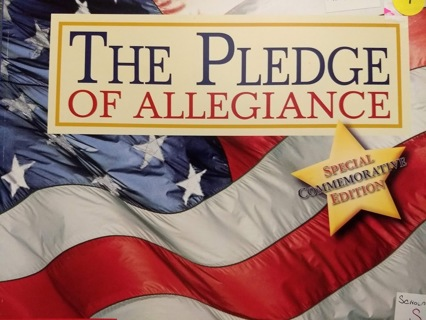 Pledge of Allegiance, special commemorative edition