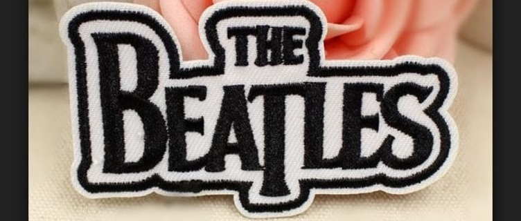 NEW The Beatles patch IRON ON band patch badge patch Embroidered patch Iron on patch Applique