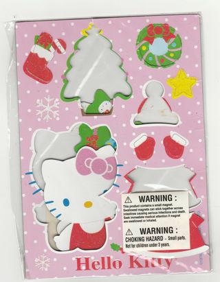 Hello Kitty by Sanrio Holiday Theme Magnetic Sheet, Christmas Theme
