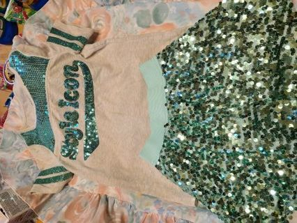Girl's Shirt & Matching Skort