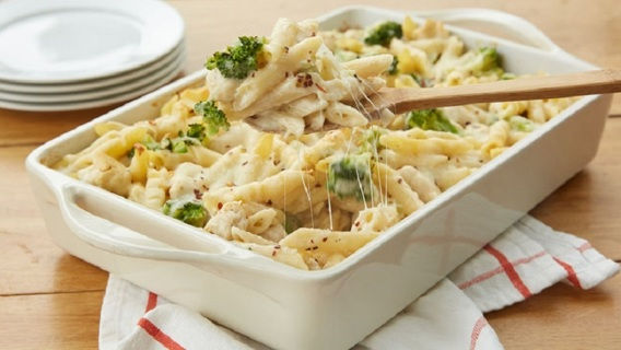 ❤️  (New) Chicken Alfredo Bake Recipe ❤️