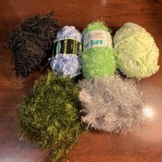 Random multi yarn lot free ship