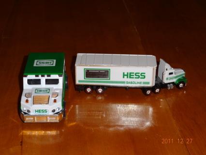 Mini Hess trucks