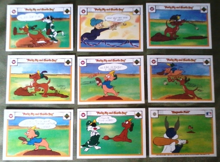 Free 9 Looney Tunes Baseball Cards Other Trading Cards