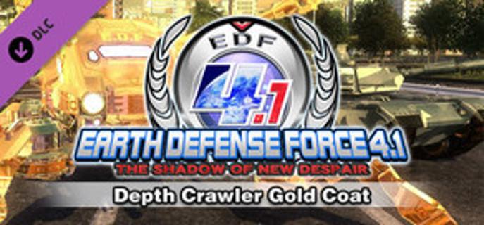 EARTH DEFENSE FORCE 4.1: Depth Crawler Gold Coat