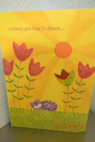 "****DESIGNER GREETINGS CUT OUT ""BIRTHDAY CARD"" W/ENVELOPE***FREE SHIPPING"