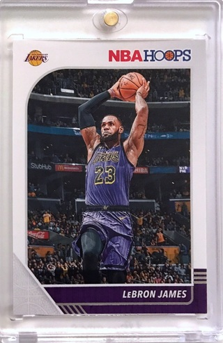 LeBron James - 2019-20 Hoops #87 - Los Angeles Lakers FREE SHIPPING [L1-3]