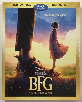 Disney The BFG (Blu-Ray + DVD + Digital HD) Movie with Slipcover - Brand New Factory Sealed