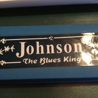 JOHNSON BLUES KING HARMONICA