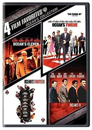 4 Film Favorites: Ocean's Collection- Digital Code Only- No Discs
