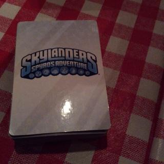 Skylanders card lot