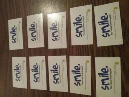 Smile Cards (10)