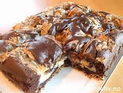 GOOEY EARTH QUAKE  CAKE
