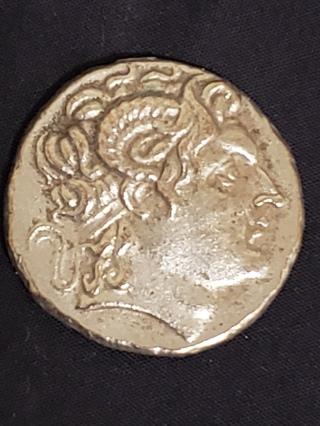 323-281 BC ALEXANDER THE GREAT TETRADRACHM +REPLICA+COIN+