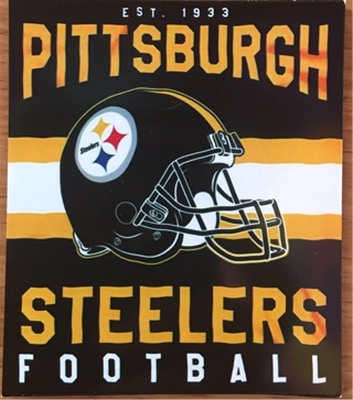 """PITTSBURGH STEELERS NFL - 2 x 3"""" MAGNET"""