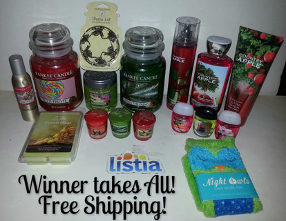 Free: **Merry Christmas Bundle** Bath & Body Works, Yankee Candle ...
