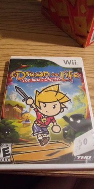 Drawn to life nintendo wii game