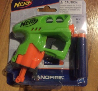 "Nerf ""nanofire"""