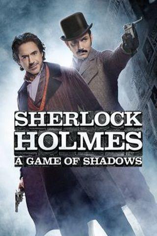 """Sherlock Holmes a Game of Shadows"" HDX-""Vudu or Movies Anywhere"" Digital Movie Code"