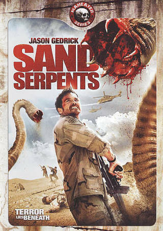 2009 Sand Serpents:Maneater Series DVD Movie + Slipcover-New & Sealed-Terror Lies Beneath
