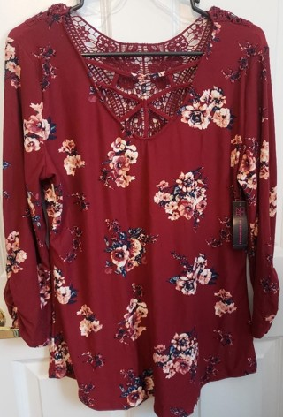 Women's NWT Blouse, Top, Shirt size X Large XL