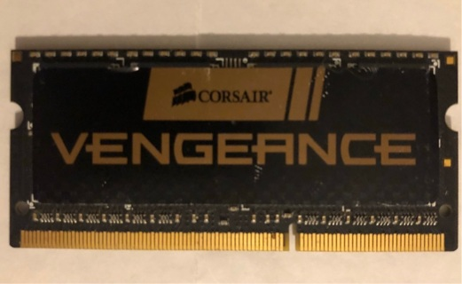 VENGEANCE 8GB High-performance laptop memory