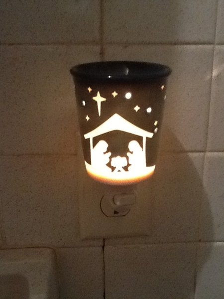 Free 3 Days Only Quot Starry Night Quot Nativity Scentsy