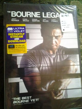 The Bourne Legacy Ultra Violet Code