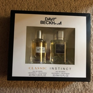 David Beckham perfume set free shipping