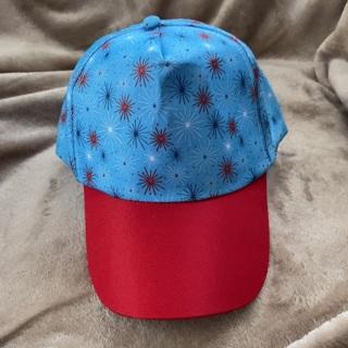 Adjustable fireworks design hat