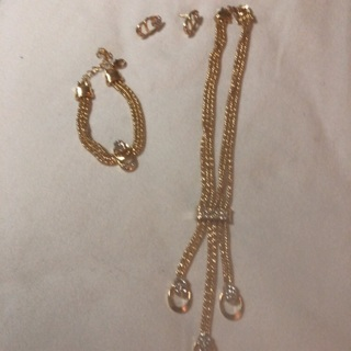 Fashion Gold color Jewelry .
