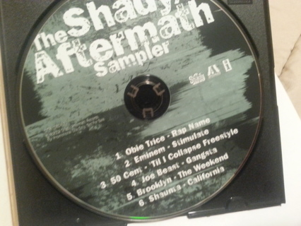Free: Music CD  The Shady Aftermath Sampler  Awesome CD in