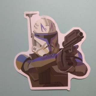 CAPTAIN REX STORMTROOPER Star Wars Rebels New Sticker Decal - Free Shipping