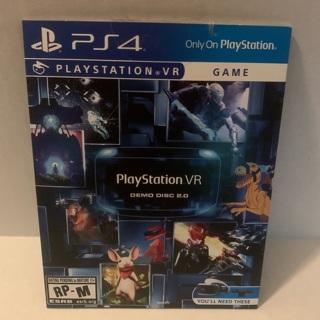 PlayStation 4 vr demo disc 2.0