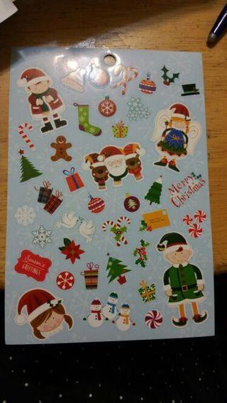 Christmas Stickers # 272
