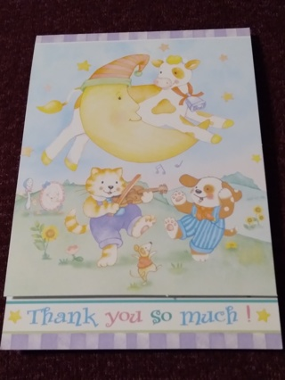 Thank You Notecards - Nursery Rhymes