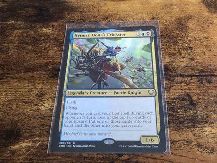 Nymris Oonas trickster rare card Commander Legends