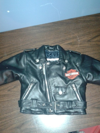 Free: Harley Davidson Baby 2T imitation leather jacket - Other ...