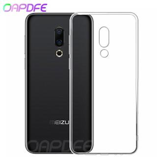 Ultra Thin Transparent Soft Phone Case For Meizu M6S M5S M3S M15 M6 M5 M3 Note 16 th 15 Plus Lite