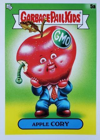2020 Garbage Pail Kids GPK 35th Anniversary #5a Apple Cory