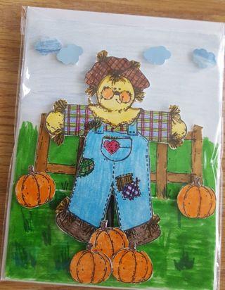 Handmade Card- Fall