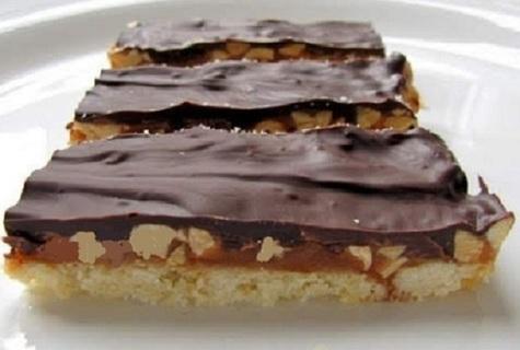 ❄(New) Chewy Peanut Butter-Caramel Bar Recipe ❄